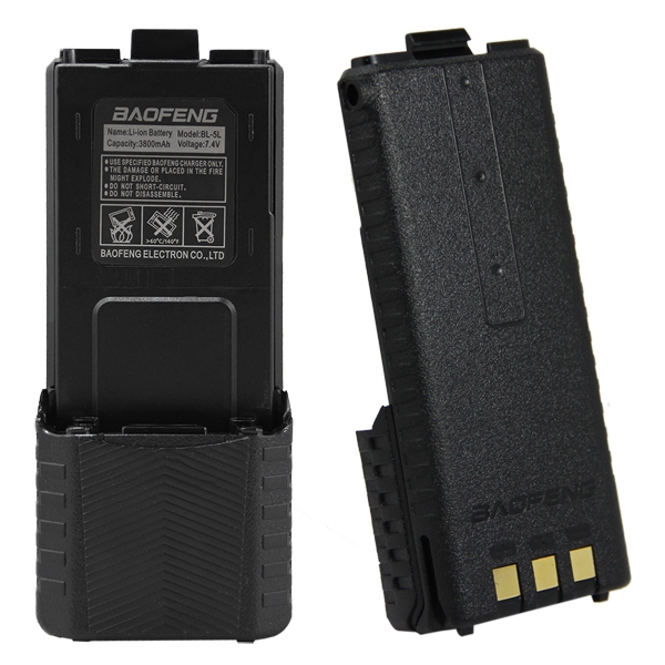 Аккумулятор оригинальный BaoFeng Li-ion увеличенной емкости 3800 mAh