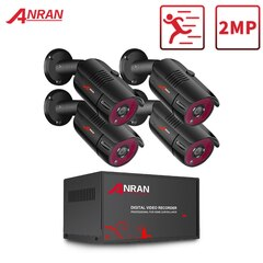 Комплект видеонаблюдения Anran 4 камеры ANL