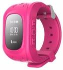 Детские часы-телефон с GPS Q50 - Розовые