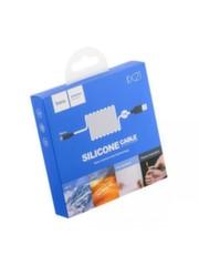 Силиконовый кабель HOCO X21 MicroUSB