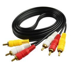Видео кабель 3RCA 3M