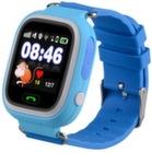 Детские часы-телефон с GPS Q90 - Синие