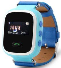 Детские часы -телефон c GPS Q60 Синие