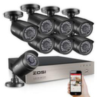 Комплект Видеонаблюдения ZOSI 8 камер HD