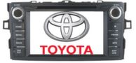 """Long Way"" Штатная автомагнитола Toyota Corolla 2012"