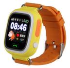 етские часы-телефон с GPS Q90 - Оранжевые