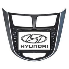 """""""Long Way"""" Штатная автомагнитола Hyundai Solaris 2010+"""