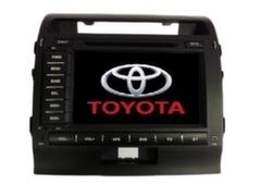 """""""Long Way"""" Штатная автомагнитола Toyota Land Cruiser 200"""