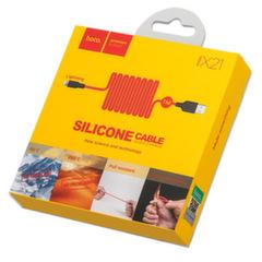 Силиконовый кабель HOCO X21 Lightning