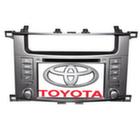 """""""Long Way"""" Штатная автомагнитола Toyota Land Cruiser 100"""