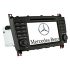 """Long Way"" Штатная автомагнитола Mercedes W203"