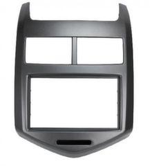 Переходная рамка для Chevrolet Aveo 2012 - 2 din черная