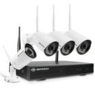Комплект Беспроводного Видеонаблюдения DefeWay 4 камеры HD