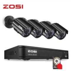 Комплект Видеонаблюдения ZOSI 4 камеры HD