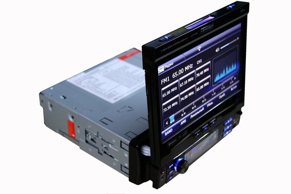 1DIN магнитола Leader LD-8181GPS