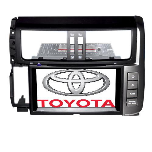 """""""Long Way"""" Штатная автомагнитола Toyota Prado 2010-2012"""