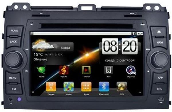"""Long Way"" Toyota Prado 120 Android"